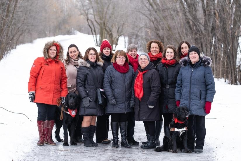 L'histoire d'amour entreLes Cercles de Fermières du Québecet les fondations OLO et Mira ne date pas d'hier.