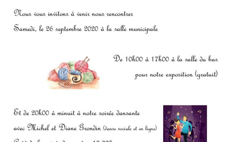 Anniversaire de fondation du Cercle Saint-Édouard-de-Lotbinière