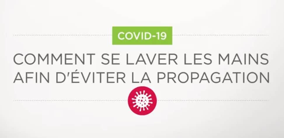 La diminution de la propagation du coronavirus passe avant tout par le respect de certaines mesures d