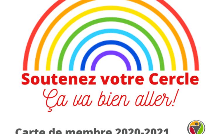 Lancement de la campagne d'adhésion 2020-2021