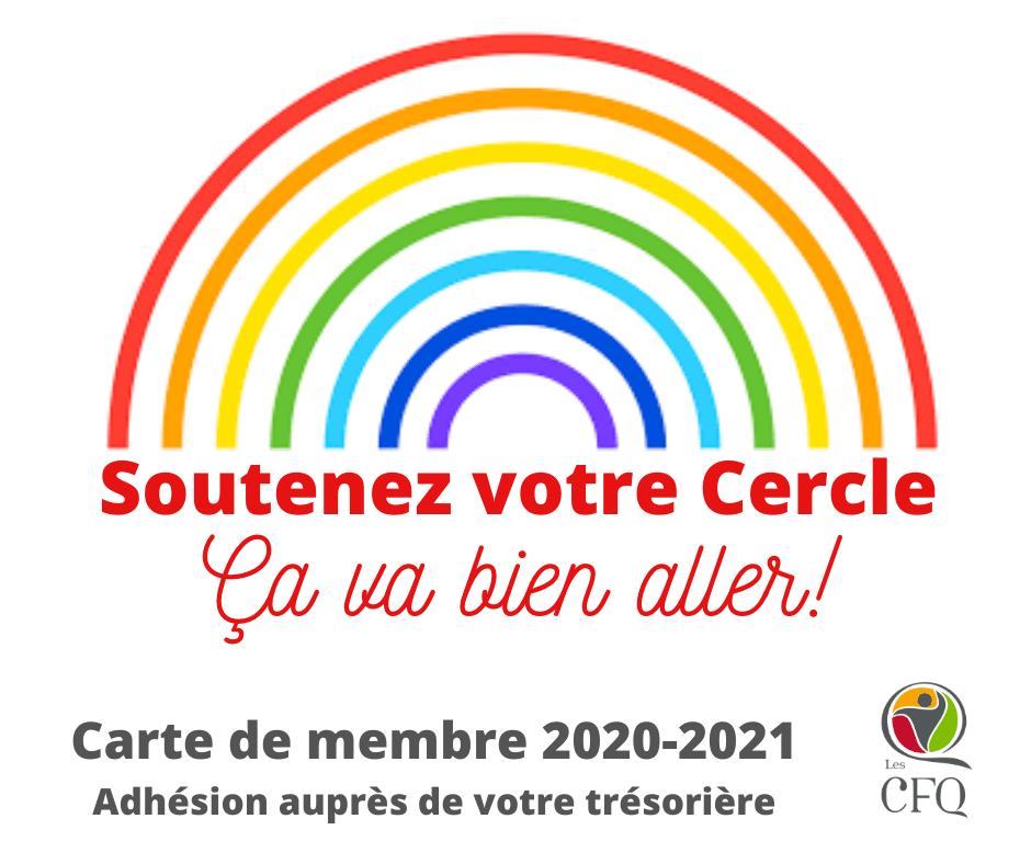 C'est le temps de passer à l'action, et d'adhérer – ou de renouveler votre adhésion – à notre Association pour l'année 2020-2021.