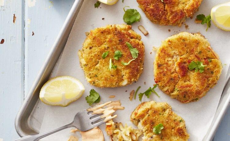 Croquettes au crabe et homard