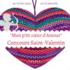 Règlement du concours Saint-Valentin : ''Mon p'tit cœur d'Amour''