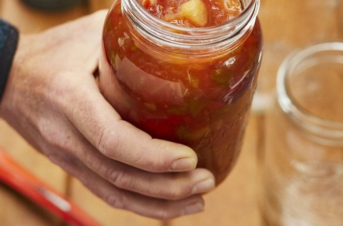 Ketchup aux fruits de Yolande