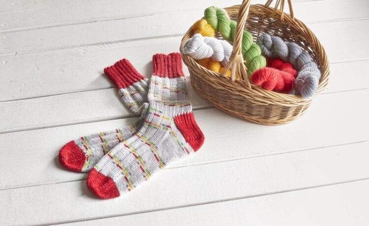 Chaussettes aux couleurs des CFQ